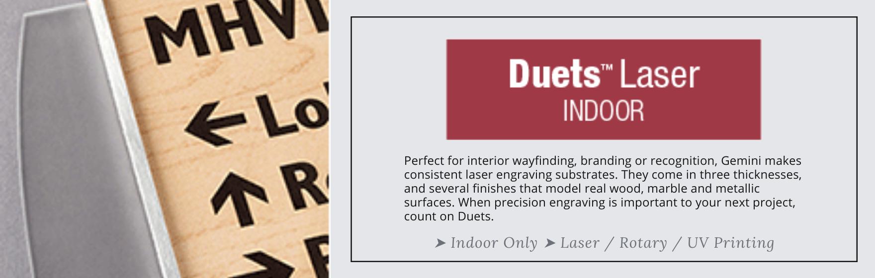 Duets Laser Indoor